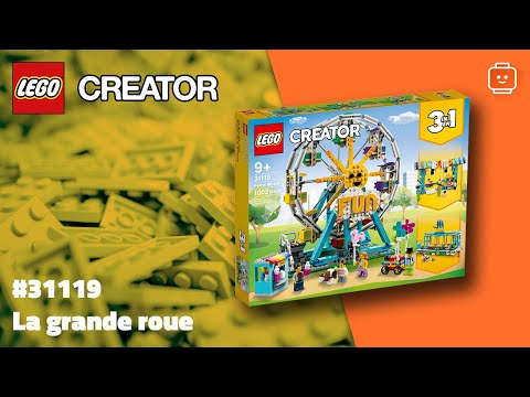Vidéo LEGO Creator 31119 : La grande roue