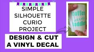 Simple Project - Design & Cut A Vinyl Decal