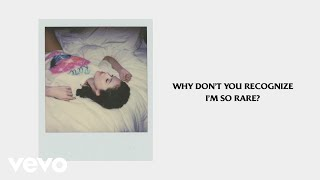 Selena Gomez - Rare (Official Lyrics)