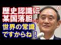 菅官房長官の歴史認識に韓国落胆?いやいやこれは世界共通です!