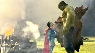 Superman vs The Hulk