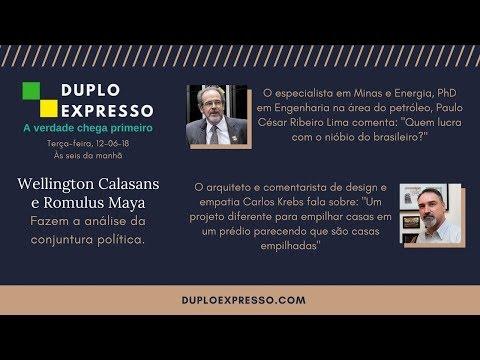 Assista A Repostagem Duplo Expresso 12jun2018 No Youtube