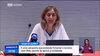 """Governo dos Açores lança campanha """"Viver os Açores"""" para promover turismo interno"""