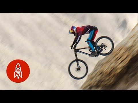 Riding Mountain Bikes Near the North Pole