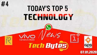 Today's Top 5 Interesting Trending Technological News | 05 | Tech Bytes
