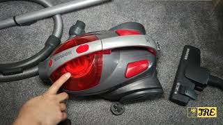 Hoover Whirlwind Bagless Cylinder Vacuum Cleaner SE71WR01 (Review)