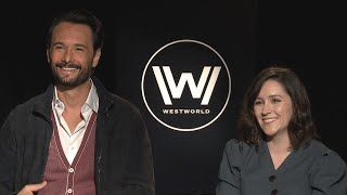 'Westworld' Season 2: Shannon Woodward and Rodrigo Santoro