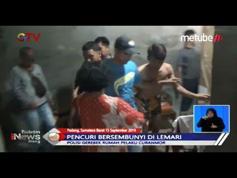 Polsek Padang Bekuk Pelaku Curanmor yang Sembunyi dalam Lemari - BIS 16/09