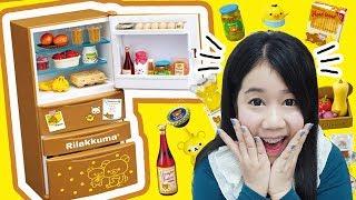 รีวิว ตู้เย็นจิ๋ว ของหมีริลัคคุมะ ของเล่นที่น่ารักเว่อร์วัง ~♡ Re-ment Rilakkuma Refrigerator ♡