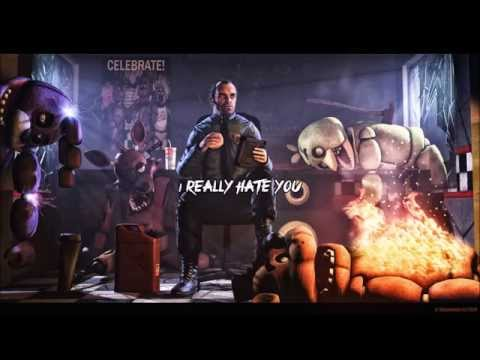 """Nightcore """"Die In A Fire"""" Five Nights At Freddy's 4 Song [Lyrics] (видео)"""