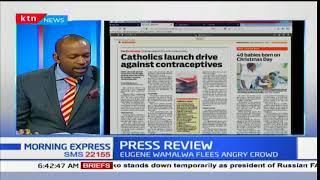 Catholics launch drive against contraceptives