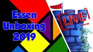 MEGA Essen Unboxing w/Tom, Zee and Sam!!