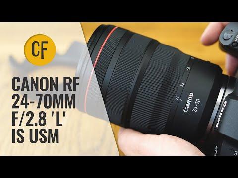 External Review Video HQQ1DqxLMVo for Canon RF 24-70mm F2.8L IS USM Lens