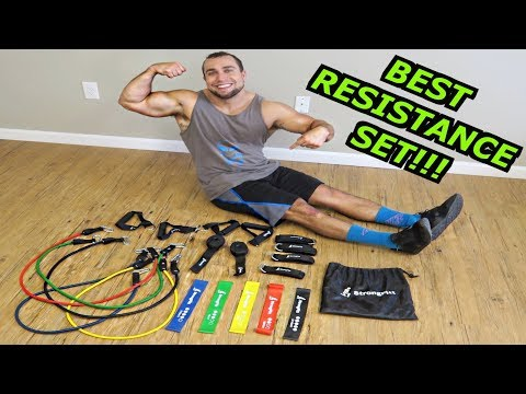 Best Resistance Bands, Loops & Ankle Straps I've Ever Used! - Exercises Included