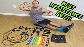Best Resistance Bands, Loops & Ankle Straps Ive Ever Used! - Exercises Included