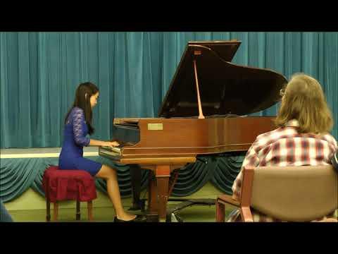 Susanna Niu - Bach Prelude in Bb Minor WTC I