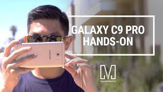 Samsung Galaxy C9 Pro Unboxing and Hands-On