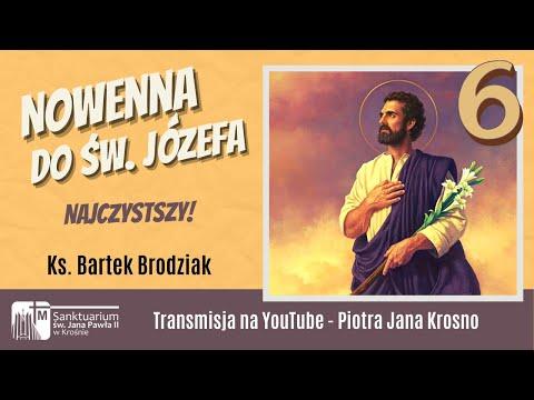 Najczystszy!- VI dzień Nowenny do św. Józefa, Sanktuarium św. Jana Pawła II w Krośnie 16.03.2021