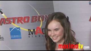 Madeline Carroll at ASTRO BOY Premiere October 19, 2009