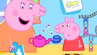 Peppa Pig Official Channel | Let's Play Marble Run with Peppa Pig