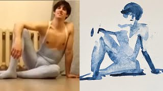 video: First British ballet dancer hired by Mariinsky reveals new starring role... as a life model