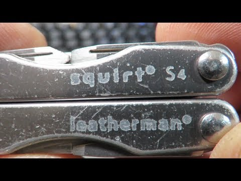 Leatherman SQUIRT S4 : Retired, old, used but still valiant!