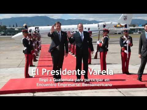 Varela participa en Encuentro Empresarial Iberoamericano