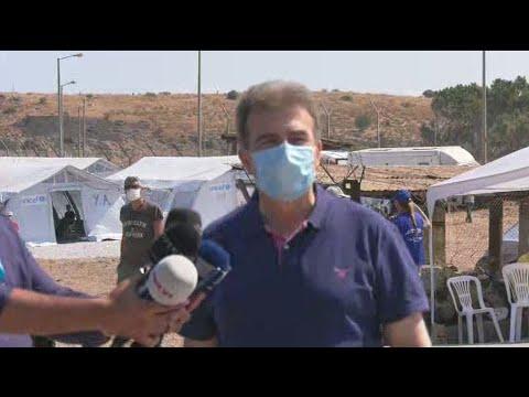 Συνεχίζεται η εγκατάσταση προσφύγων στον νέο καταυλισμό του Καρά Τεπέ