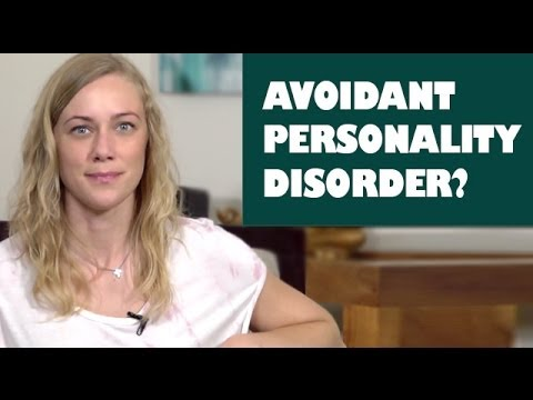 Video What is Avoidant Personality Disorder? AVPD symptoms and therapy - Mental Health with Kati Morton