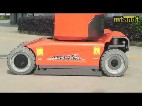 Mast Boom Lift(Wheel/Crawler Mounted)