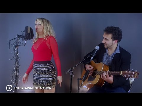 The Krazy Keys - Uptown Funk Acoustic Duo