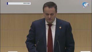 Андрей Никитин обозначил вопросы, с которыми сталкивается Новгородская область при реализации нацпроектов