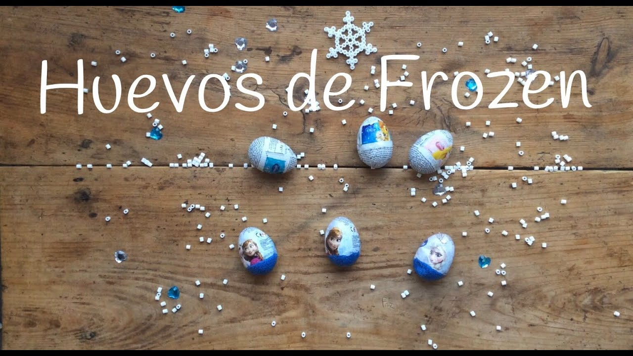 Huevo Kinder de FROZEN en español | Huevos SORPRESA para niños