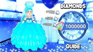 roblox royale high how to get diamonds - TH-Clip