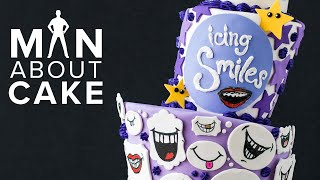 Bake a Difference: ICING SMILES' 8th Birthday Cake | Man About Cake with Joshua John Russell
