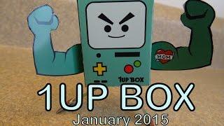 January 1UP BOX- Robo Mayhem Yay! (usps boo!)