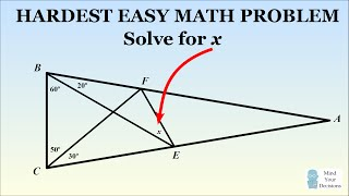 How To Solve The Hardest Easy Geometry Problem