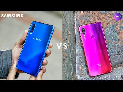 Samsung Galaxy M30 vs Redmi Note 7 Pro : Full Comparison
