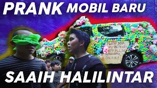 Video PRANK Tempelin Boneka & Bola ke Mobil Baru Saaih Halilintar MP3, 3GP, MP4, WEBM, AVI, FLV September 2019