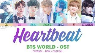 BTS (방탄소년단)   HEARTBEAT | Lyrics: Español   Rom   English (CORRECT LINES)
