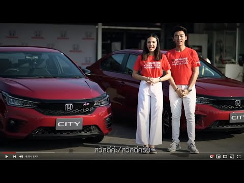 Test drive New Honda City Turbo in Thailand