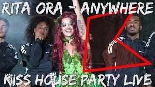 Rita Ora – Anywhere (Live) | KISS House Party Live