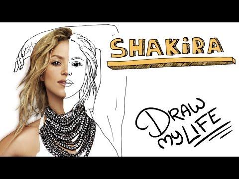 La Biografía Dibujada De La Colombiana Shakira