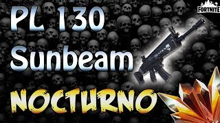 FORTNITE - PL 130 Sunbeam Nocturno With Upgraded Legendary Perks Gameplay