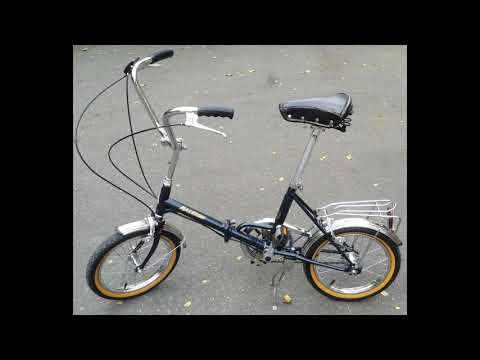 Fully restored 1970's Raleigh 16 (Japan) vintage folding bicycle for sale