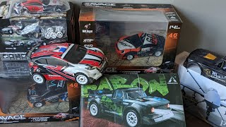 SG 1603 Unboxing & A949 Edition - 1st Look + Upcoming Wltoys Rally & Drift  Small RC Car Series