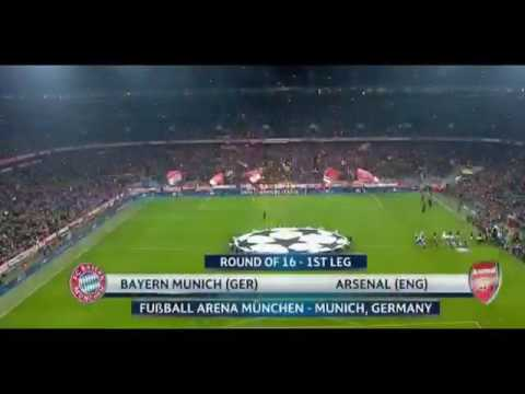 Bayern Munich VS Arsenal 5-1 HD All Goals Highlights (1st Leg)