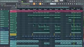 Benny Blanco & Calvin Harris   I Found You (FL Studio Remake)