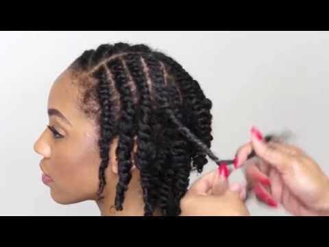 Natural Hair Tutorial- How To Do A Two Strand Twist