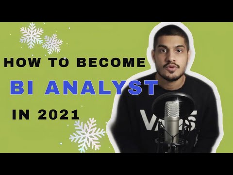 How to become a Business Intelligence Analyst?